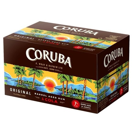 CORUBA 7% 12 PK CAN CORUBA 7% 12 PK CAN