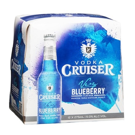 CRUISER BLUEBERRY - 12pk btls CRUISER BLUEBERRY 12pk btls